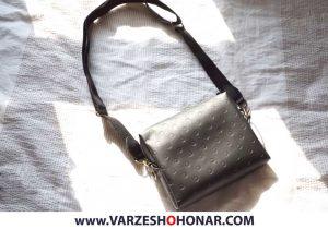 آموزش دوخت کیف دوشی زنانه