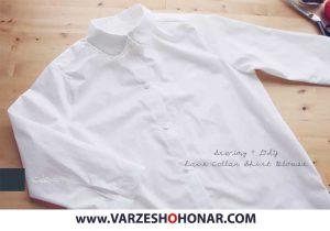 آموزش دوخت پیراهن زنانه