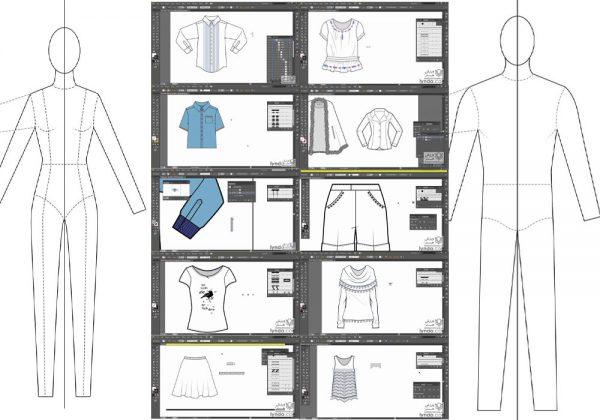 دانلود آموزش جامع طراحی لباس با مارولوس دیزاینر Marvelous Designer پک 1
