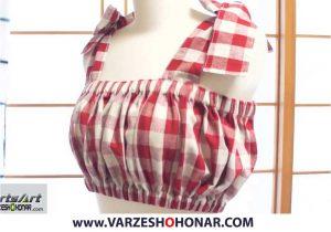آموزش دوخت لباس زنانه
